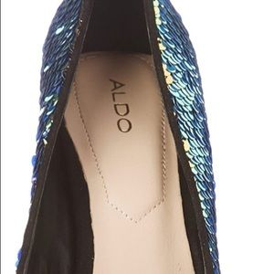 Aldo Shoes - Aldo Size 6.5 sequin Pump